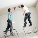 Montage und Renovierung